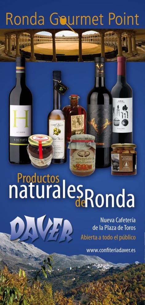 folleto español cafetería